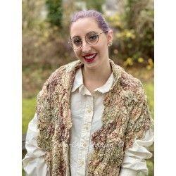 shawl Greta in Anise Rose Petal