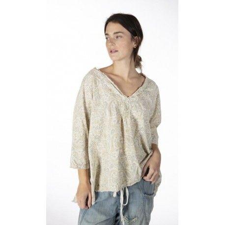 blouse Bondi in Fleuri Magnolia Pearl - 1