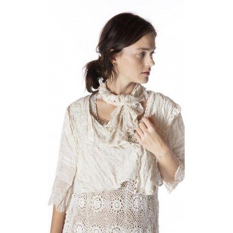 blouse Grete in Moonlight Magnolia Pearl - 1