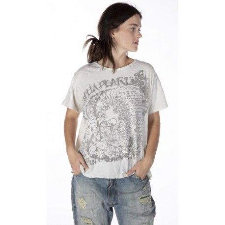 T-shirt Big Wave in Moonlight Magnolia Pearl - 1