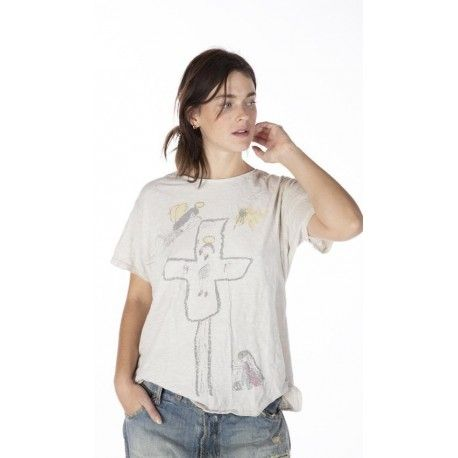 T-shirt Lumen Christi in Moonlight