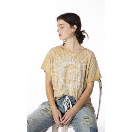 T-shirt Radiate Love in Marigold Magnolia Pearl - 1