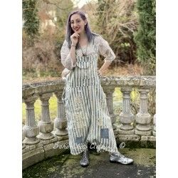 overalls Frankie in Big Hickory Magnolia Pearl - 1