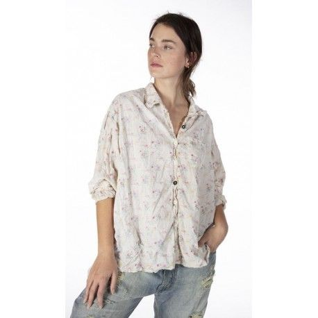 chemise Adison Workshirt in Pocket of Posies