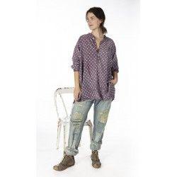 shirt Idgy Mens in Urchin Magnolia Pearl - 1