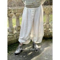 bloomer Snap Leg in White