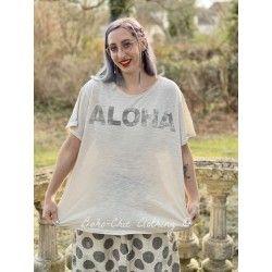 T-shirt Aloha in Moonlight