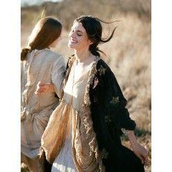 robe Tussar in Antique White