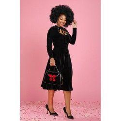 dress Clara Velvet Black