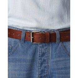 belt 99163 Brown leather