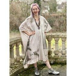 robe-tunique Jaya Kaftan Frida Collection in Lilac Water Dip Dye
