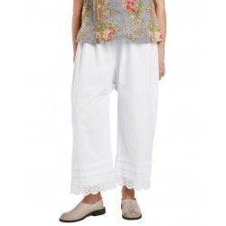 panty / pants 11366 White shirt cotton