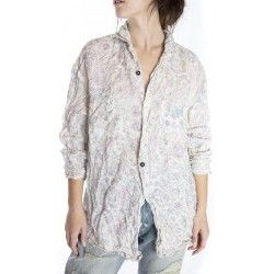 chemise Lucchese in Acanthus Sun