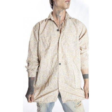 chemise Lucchese in Fleuri