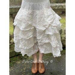 skirt / petticoat 22109 White hard voile