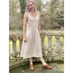 robe 55709 viscose naturelle Rose poudre