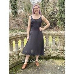 robe 55709 viscose naturelle Noir ancien