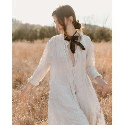 coat Ondra in Moonlight Magnolia Pearl - 1