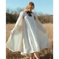 robe Layla in Natural Magnolia Pearl - 1