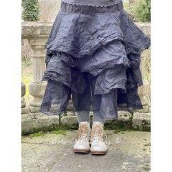 skirt / petticoat 22109 Vintage black hard voile