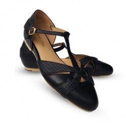 chaussures Peta Noir
