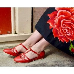 chaussures Valentina Rouge