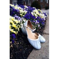 chaussures Susie Bleu Ciel