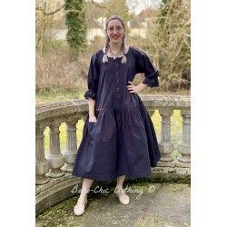 robe 55707 coton Noir ancien