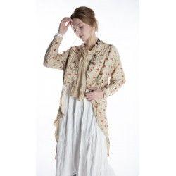 coat Emmett Tuxedo in Morocco Magnolia Pearl - 1