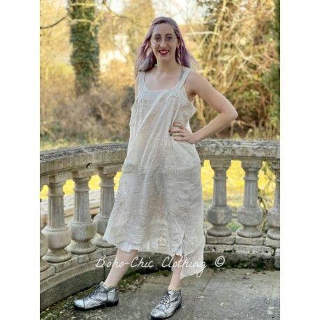 robe Ramie Vivi Anne in Antique White