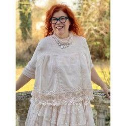 blouse 44782 Powder organdie