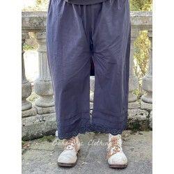 panty / pants 11366 Vintage black shirt cotton