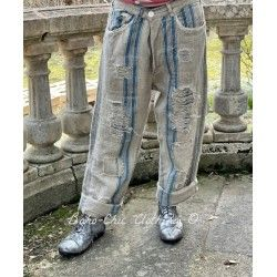 pantalon Miner Denims in Old World Ticking