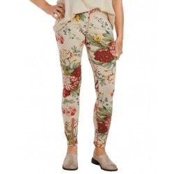 legging 11361 Flower print cotton