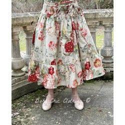 skirt / petticoat 22999 Flower print cotton