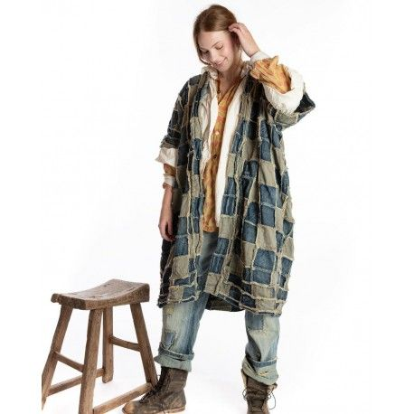 kimono Dashi Kimono in Patchwork