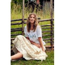 blouse 44768 White voile