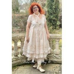 dress 55689 Powder organdie
