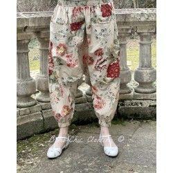 panty / pantalon 11364 coton Flower print