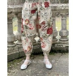 panty / pants 11364 Flower print cotton