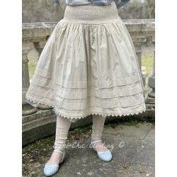 skirt / petticoat 22106 Sand shirt cotton