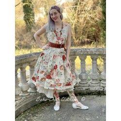 dress 55701 Flower print cotton