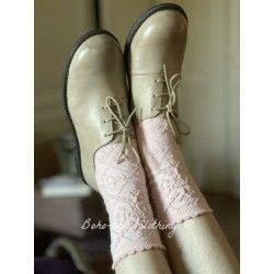 shoes 99171 Cream leather