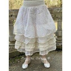 skirt / petticoat MADOU ecru organza
