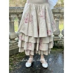skirt / petticoat JOSEPHINE floral cotton poplin Les Ours - 1