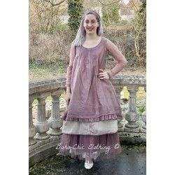 robe LAURINE organza prune Les Ours - 1
