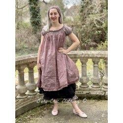 dress LAURIE plum organza Les Ours - 1