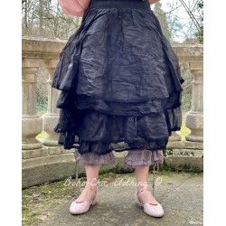 skirt / petticoat MADELEINE black organza