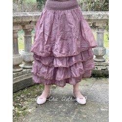 skirt / petticoat MADELEINE plum organza