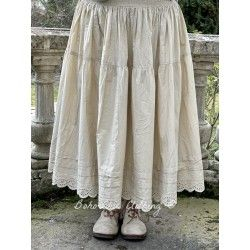 skirt / petticoat 22107 Sand shirt cotton